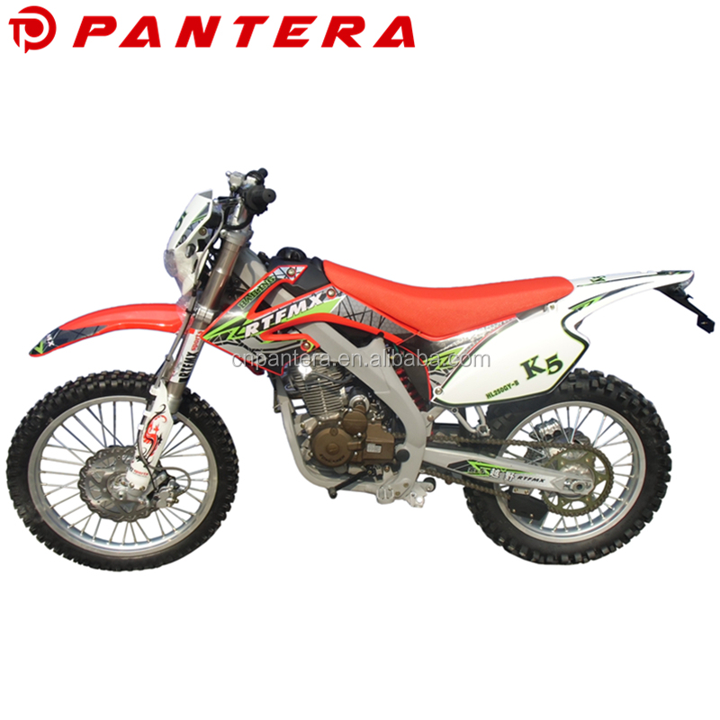 Racing Chinese Automatic Gas Powered 200cc 250cc Kids Dirt Bike for Sale Cheap