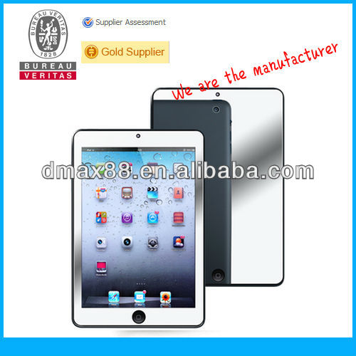 For iPad mini mirror screen protector oem/odm (Mirror)