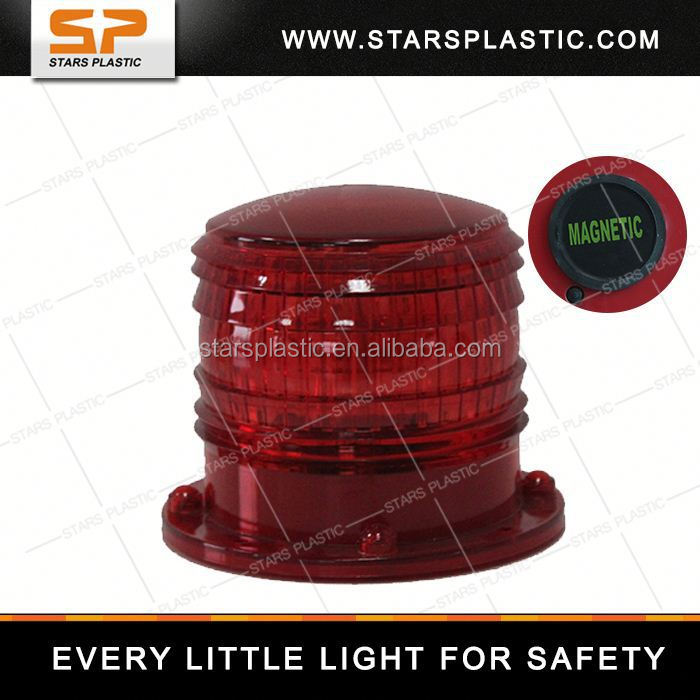 SP solar powered starport warning lamp