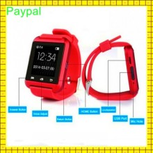 cheap Distance mileage Bluetooth u8s waterproof smart watch for android