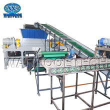 Double Shaft Shredder Tire Recycling Equipment