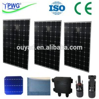 250w mono and poly solar panel manufacturer in china with lower price