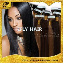 wholesale factory price European Hair Extension/double sided tape hair extensions/PU Hair Wholesale