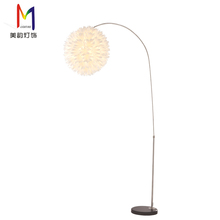 Meiyun Factory Bedroom Lampshades Light Fixtures Pole Fortuny Funky Floor Lamps