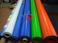 Tent fabric, crystle clear pvc tarpaulin, waterproof fireproof fabric for tent