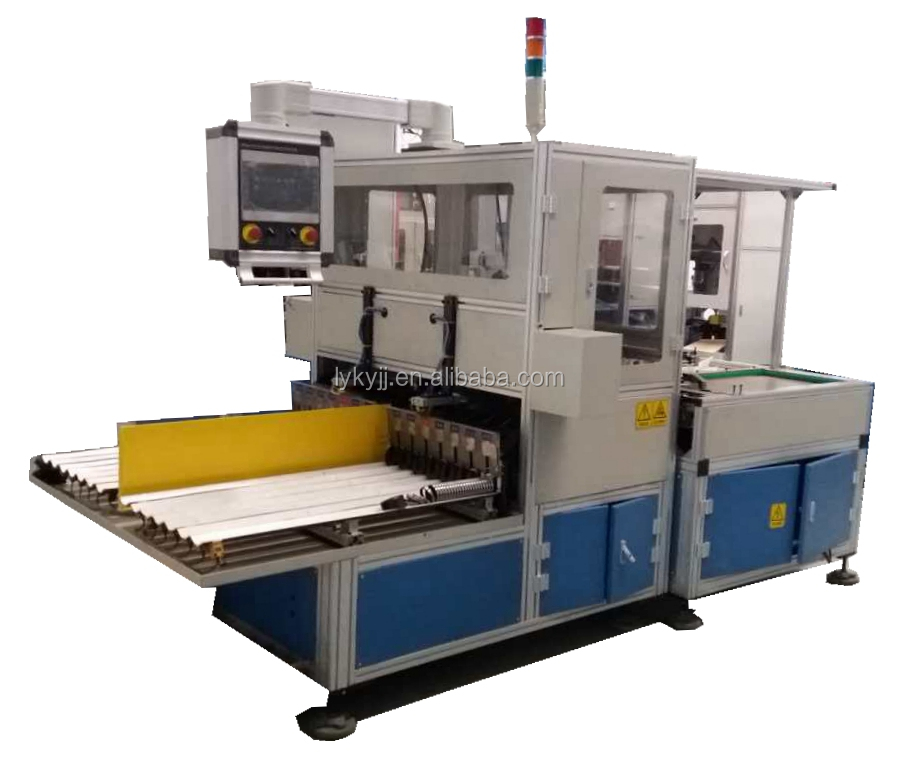 Auto-measure-grouping machine for grinding machine