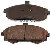 custom logos brake pad back plate With CE and ISO9001