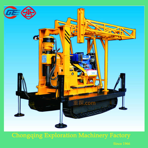 2014 newly wholesale price GX-1TDL crawler core hydraulic rotary gardner denver drill rigs