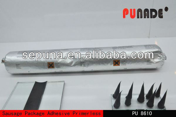 PU Sealant (Polyurethane joint sealant), Auto Glass Urethane Windshield Adhesive PU8610 ,600ml