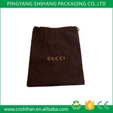 High quality custom organic cotton dust bag covers for handbags