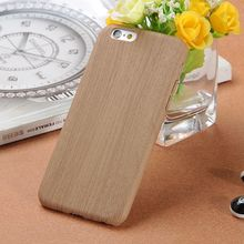"new arrival wooden case wood grain leather mobile phone case for iphone 6 4.7"" alibaba china"