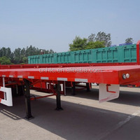 3 Axle Flatbed 20Ft 40Ft Flatbed