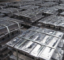 Attractive Lead ingots 99.99% price for buyers from China