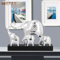 Custom indian elephant statue resin animal handicraft table decoration centerpieces