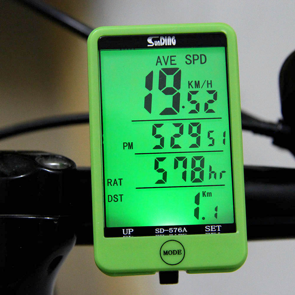 27 in 1 LCD Bicicleta Bicycle Computer Wired MTB Road Bike Computer Speedometer Odometer Big Display Backlight Cycling Computer