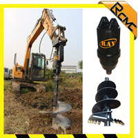 mini post hole digger rotary sand drilling machine