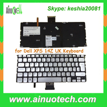 laptop replacement keybord for Dell XPS 14Z UK Keyboard