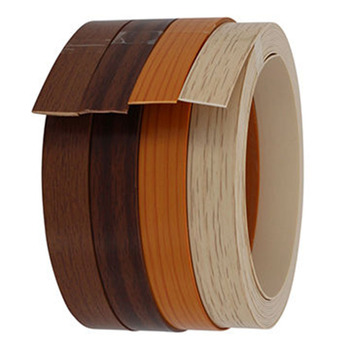 Decorative Natural Wood Edge Banding PVC Edging Strip for Furniture