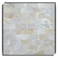 25*25mm nil gap chinese river shell mosaic backing net