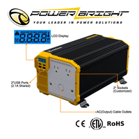 Super Compact 12V 3000w dc to ac car power inverter
