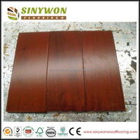 Mahogany Stained Brazilian Cherry Wooden Flooring
