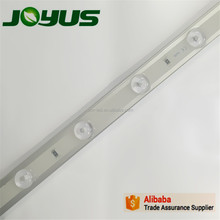 3030 12leds 24v 350ma led backlight strip with diffuser lens