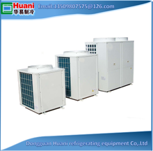 Heating and cooling air source heat pump