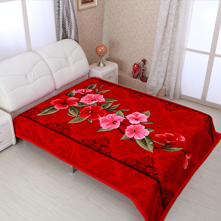 EmKorean blankets for dubai, embroidery bed cover.