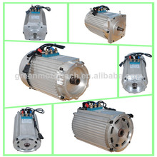 10KW AC motor for tricycle or bike trial