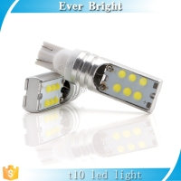 12smd COB cool white 12V low cost led light bulbs t10 w5w 194 cob led auto car led light
