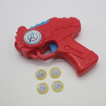 Wholesale Gun Toys Plastic Disc Shooting Gun Factory In China