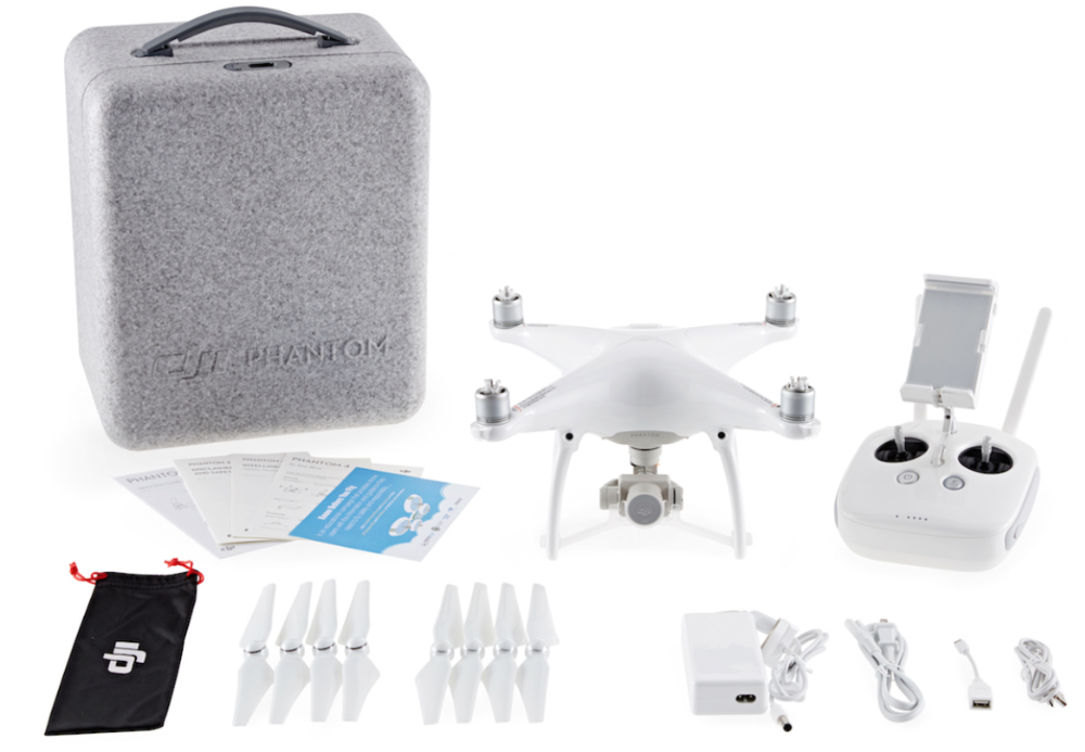DJI Phantom 4 Newest ABS Plastic Redio Contrtol Professional Drone with 4K HD Camera