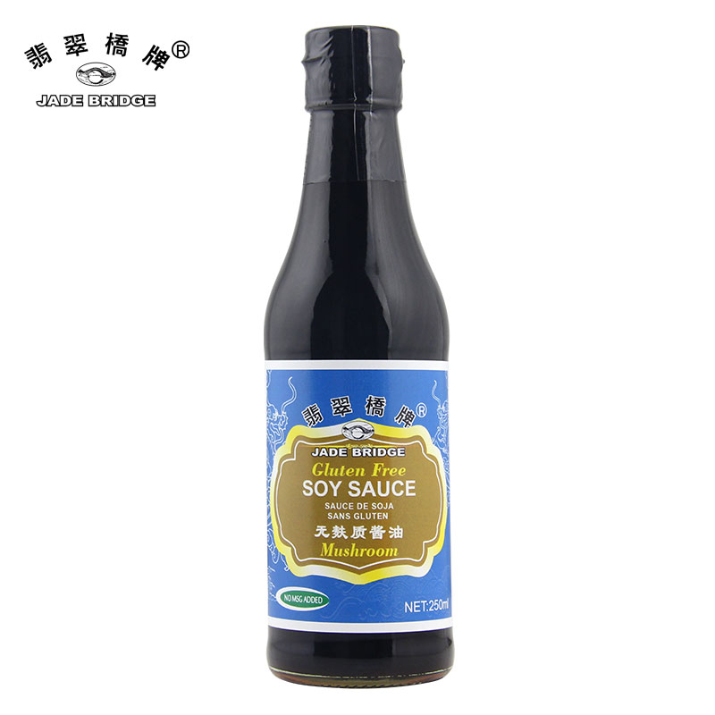 Gluten free foods Chinese supplier mushroom soy sauce