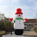 large adult inflatable christmas snowman for outdoor christmas decorations/ Inflatable Christmas snowman