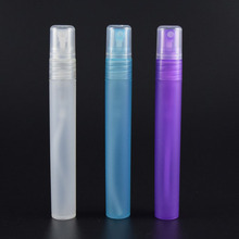 PP pocket pen hand sanitizer spray purple blue frosted 10ml perfume pen spray from manufacturer