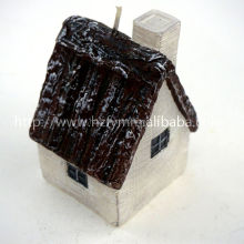 flameless candle for decoration house shape