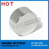 Generator Latest new design from Strong brilliant quality ndfeb cylinder N38SH/N42UH/N52/N54/N50 magnets for sale