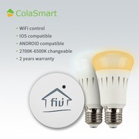 Colasmart CS-LGBD-7W-27TBG A19 C35 110-130/220-240V 60 Watt Dimmable Mr16 Led Bulb