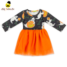 Wholesale Fashion Design Small Girls Tutu Dress New Fall Fashion Girls Boutique Dress
