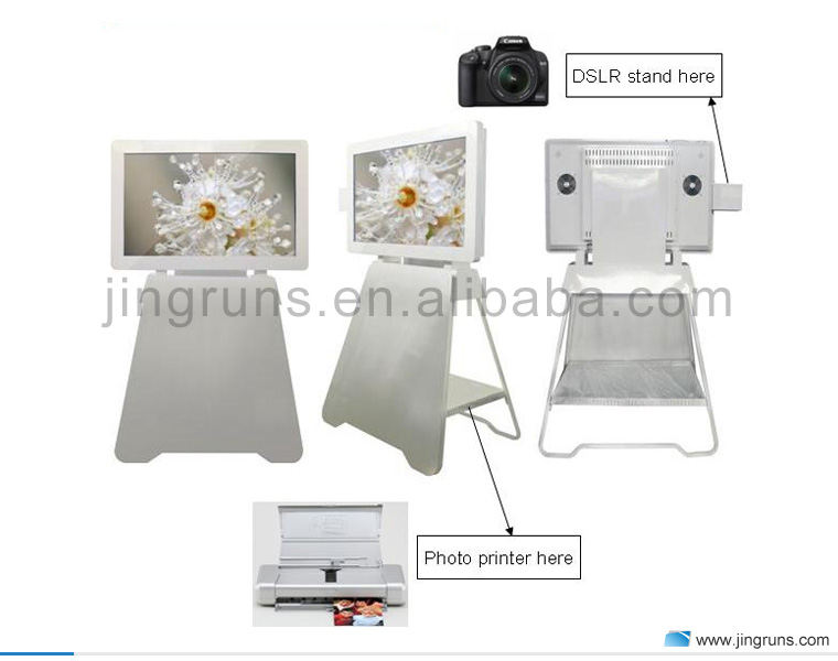 43 inch full hd 1080p ir touch screen party photo booths