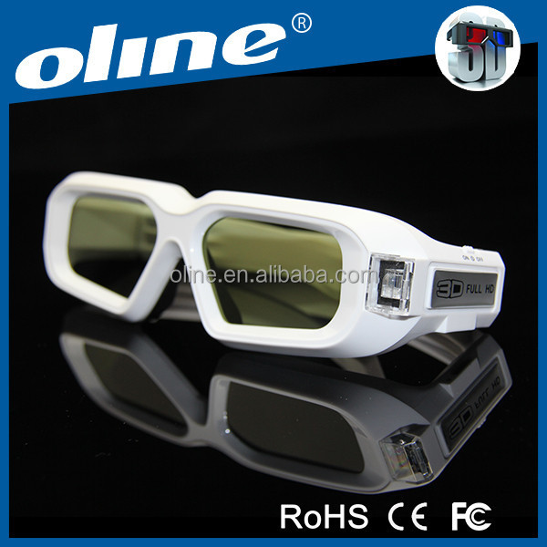 2014 New Women Hot Sex 3D Glasses OLINE NX30-II glasses with high contrast 3d movie glasses for sale