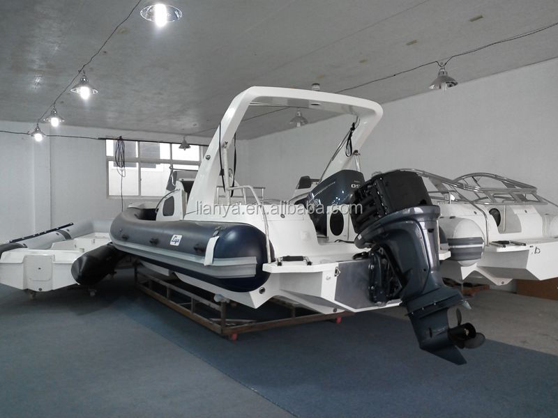 Liya 27 china rib boat outboard passenger boat luxury hypalon boat sale