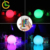 Foshan supplier 16 color RGB round decorative outdoor garden swimming pool water floating led light ball