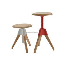 BS023A Adjustable stool with wheels