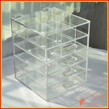wall mounted acrylic storage bins