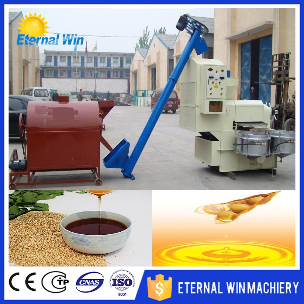 Full automatic complete oil line cooking oil / vegetable oil production line