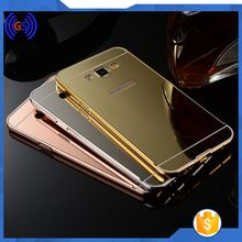 Metal Case For Samsung Galaxy S4 Mini Cell Phone Case With Mirror Stock