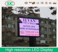 Programmable 7002c high precision bearing p4 led tri-color signs display screen company