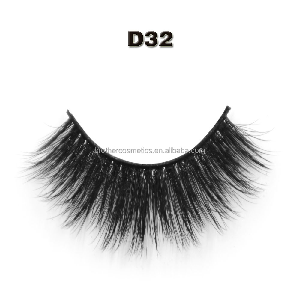 The Best Quality Premium Eyelashes Wholesale 3d Silk Lashes with Custome Boxes