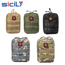 Universal Outdoor MilitaryTactical Holster Military Molle Hip Waist Belt Bag Wallet Pouch Purse Phone Case with Zipper